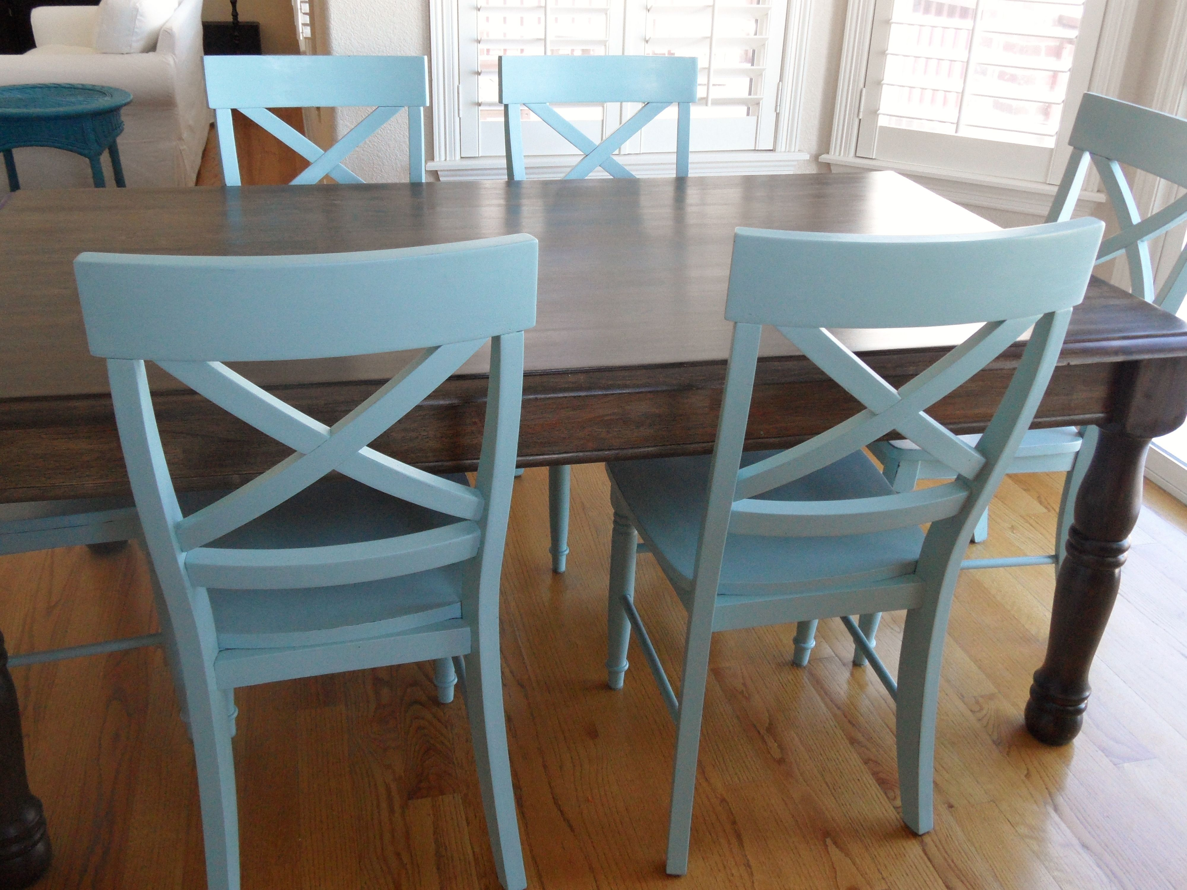 Blue Kitchen Chairs For the Home