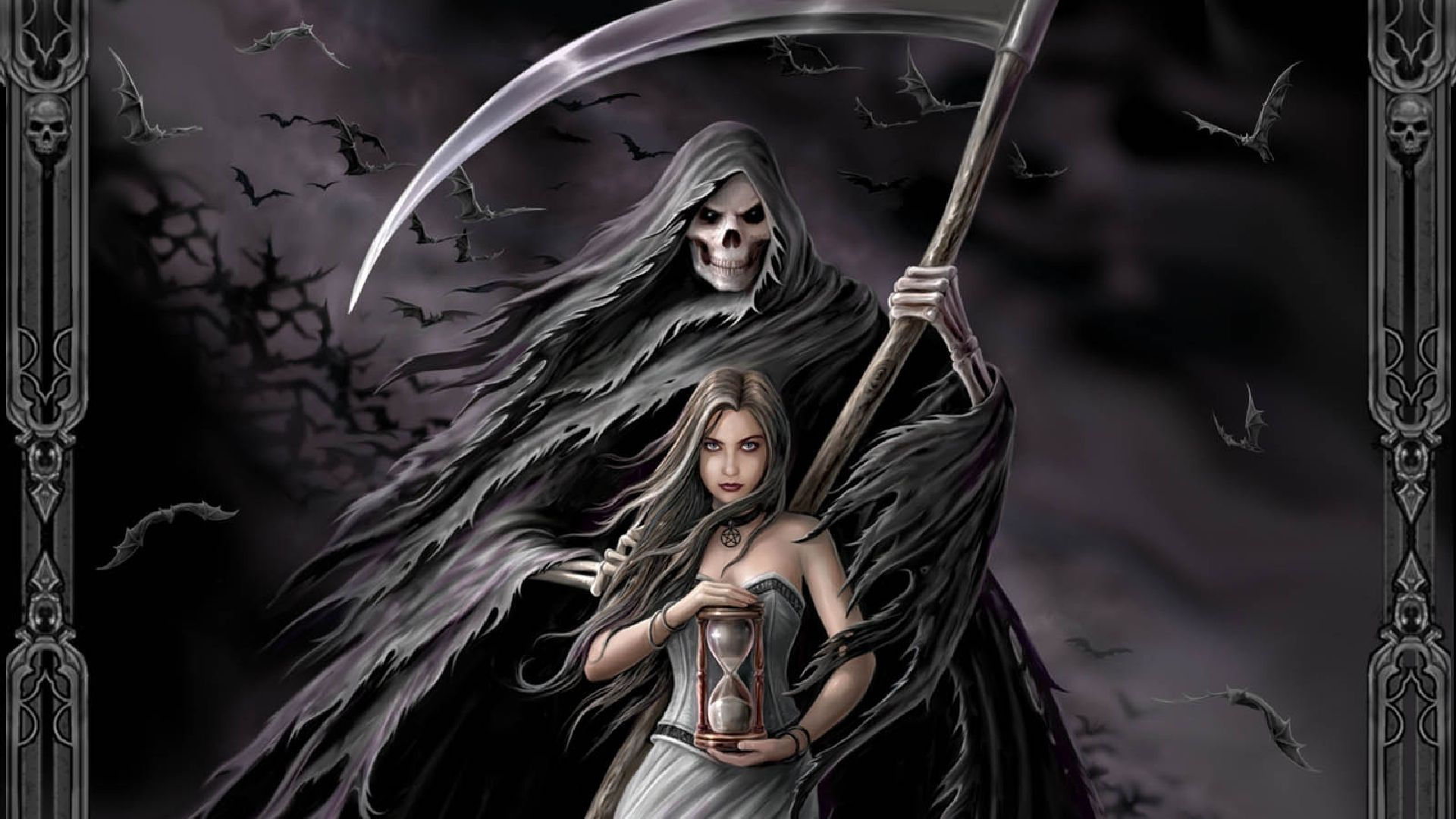 Pin by diana salinas sandoval on grim reaper angel of death pintere - Free evil angel pictures ...