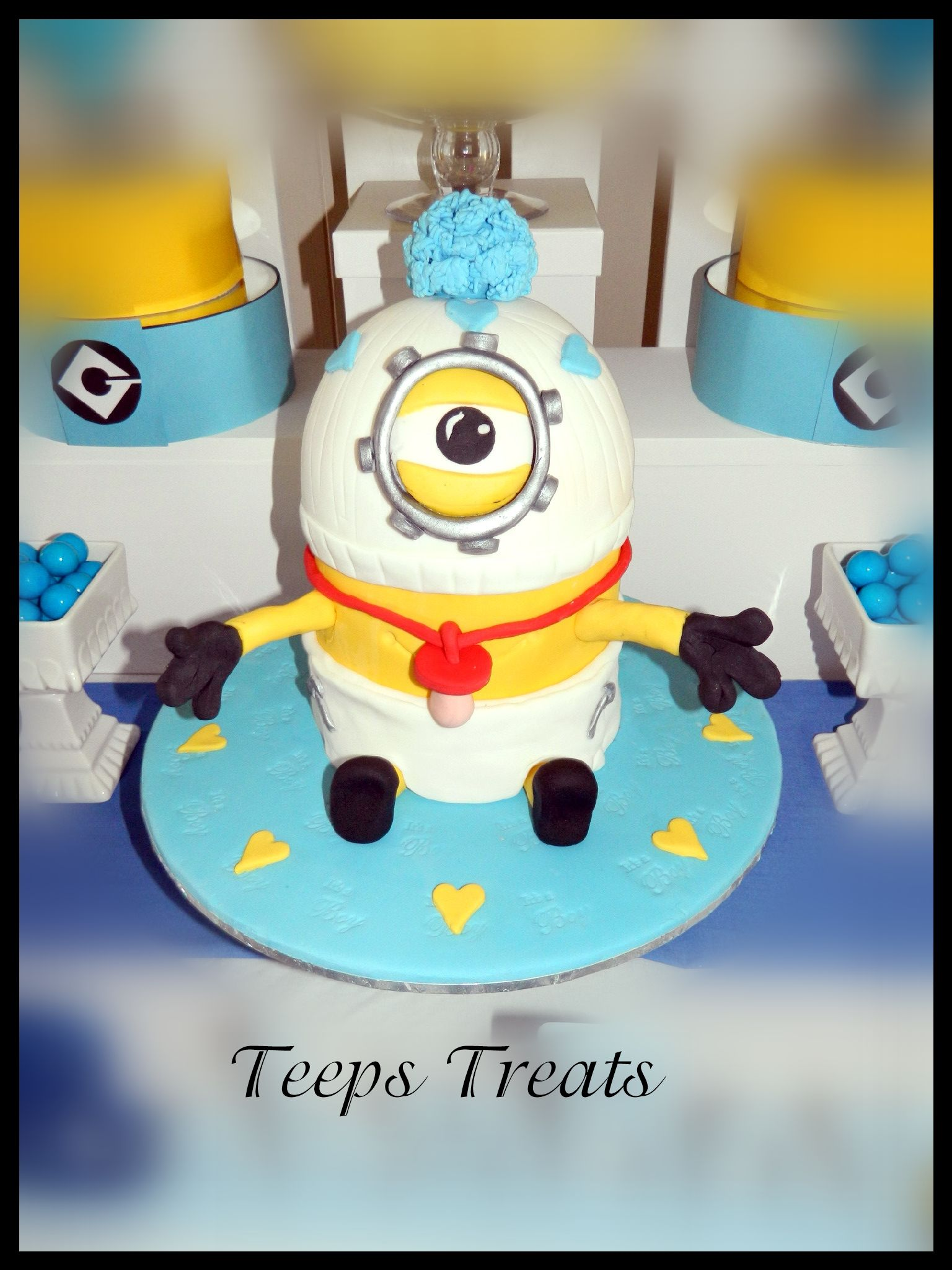 minion baby baby shower cake baby fever pinterest