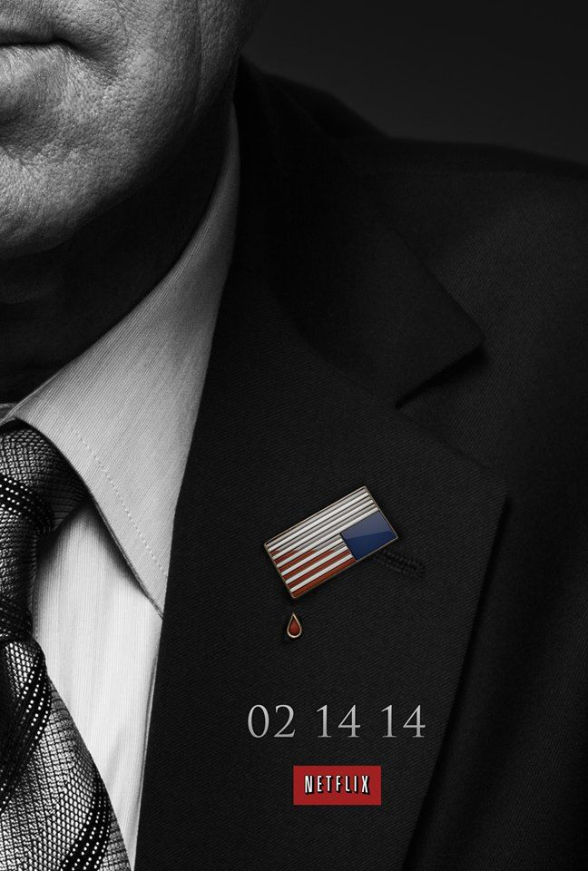 House of Cards (Netflix) saison 2 le 14/02/14 !