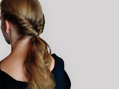 Easy glam gym hair | Braids, Ponytails, and Cute Gym Hairstyles | Pin