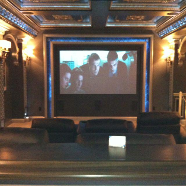 james bond themed basement movie theatre home pinterest