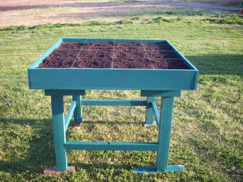 Stand Up Garden : Stand up square foot garden bed ideas pinterest