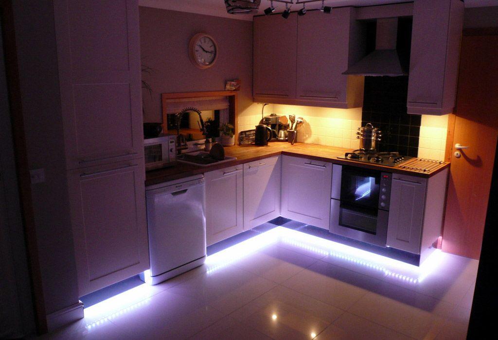 Подсветка светодиодной лентой кухни своими руками