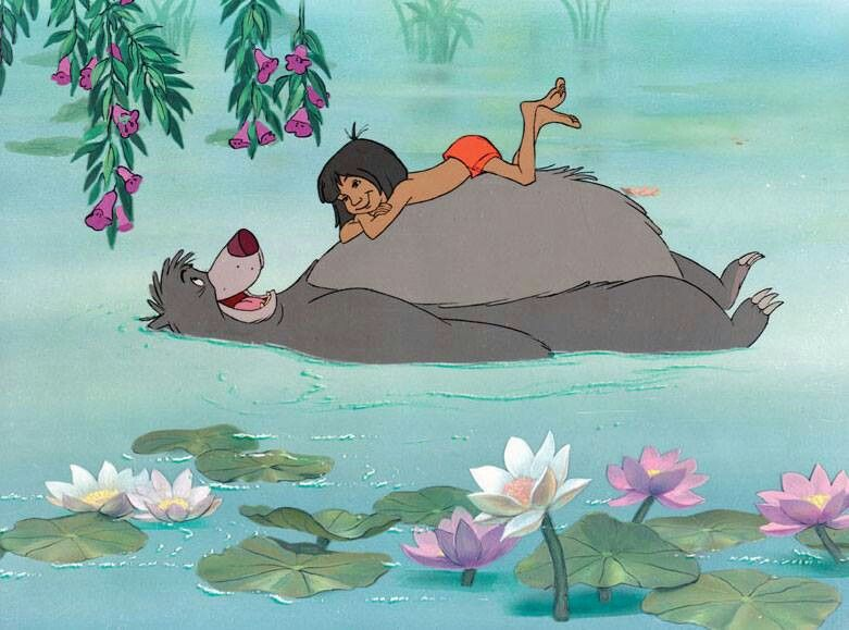 Bear necessities | Disney | Pinterest
