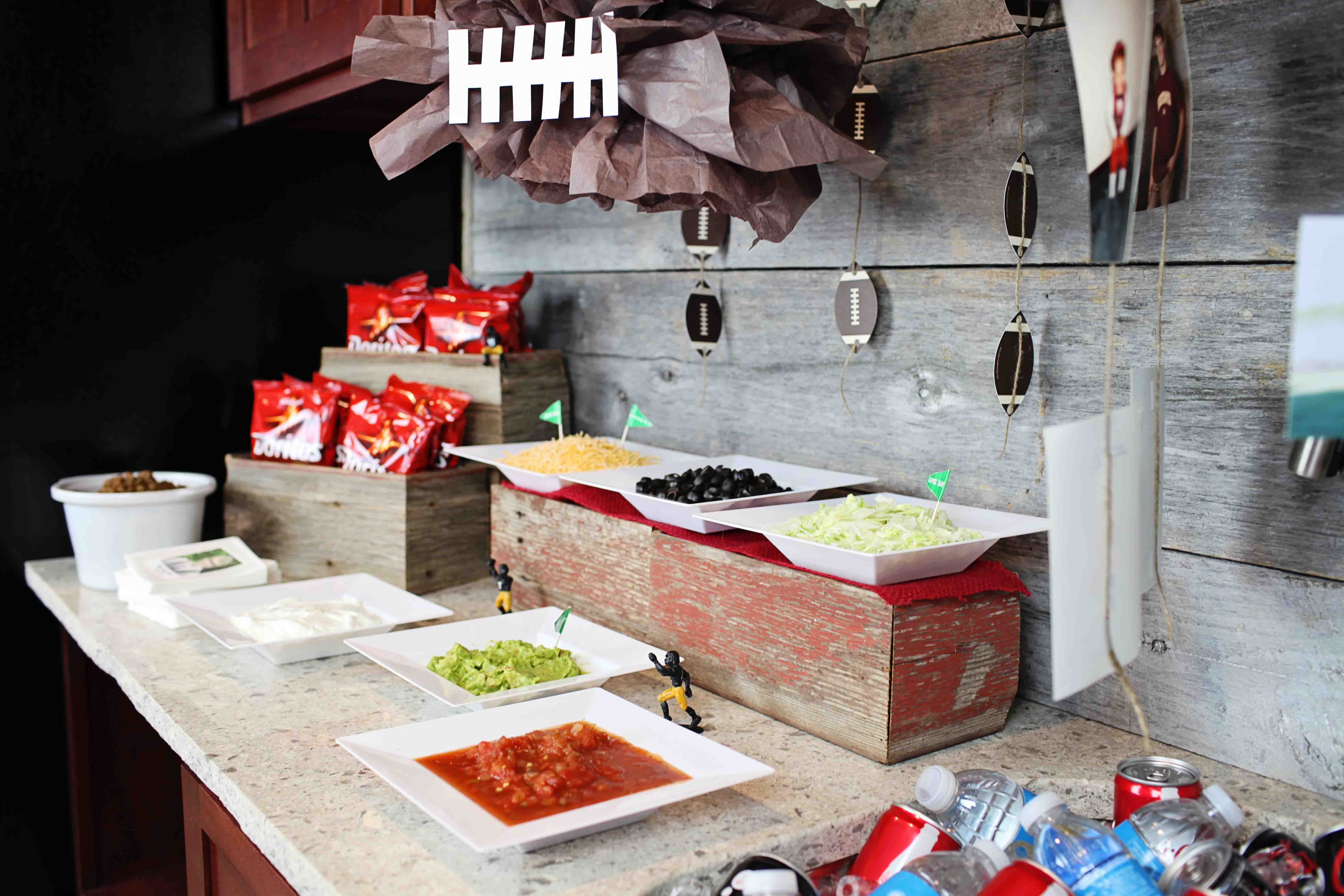Share for Food bar ideas for a party