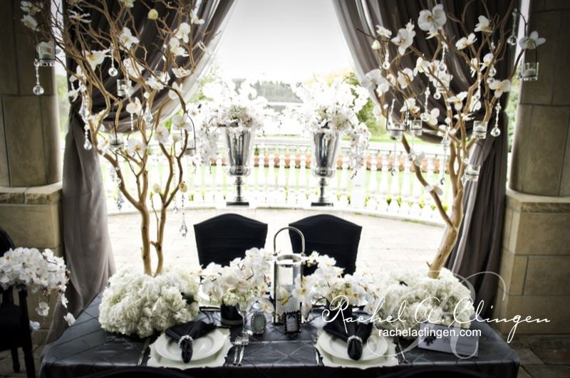 Bride Groom Wedding Table Ideas : Bride and groom table recycled wedding ideas