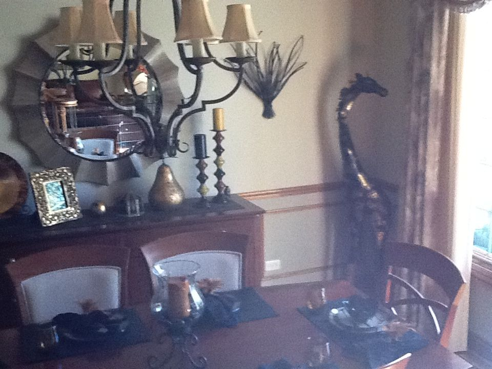 Safari dining room decor my favorite pier 1 imports for Pier 1 dining room centerpieces
