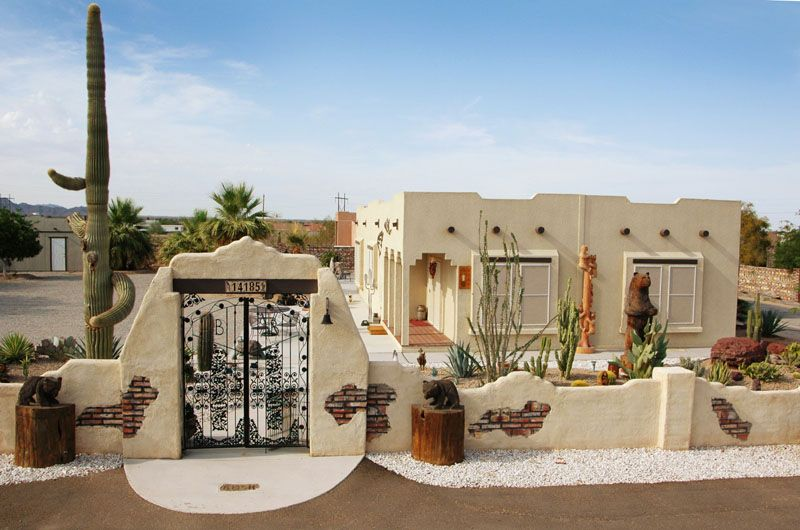 Southwestern influence for the home pinterest for Adobe home builders