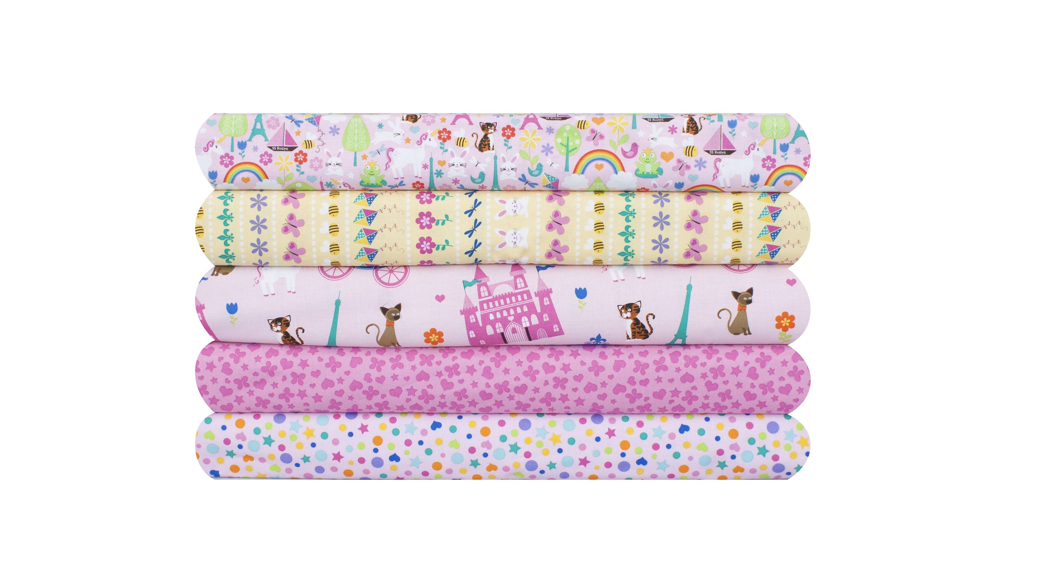 Baby girl nursery group by m 39 liss quilting m 39 liss for Baby girl fabric