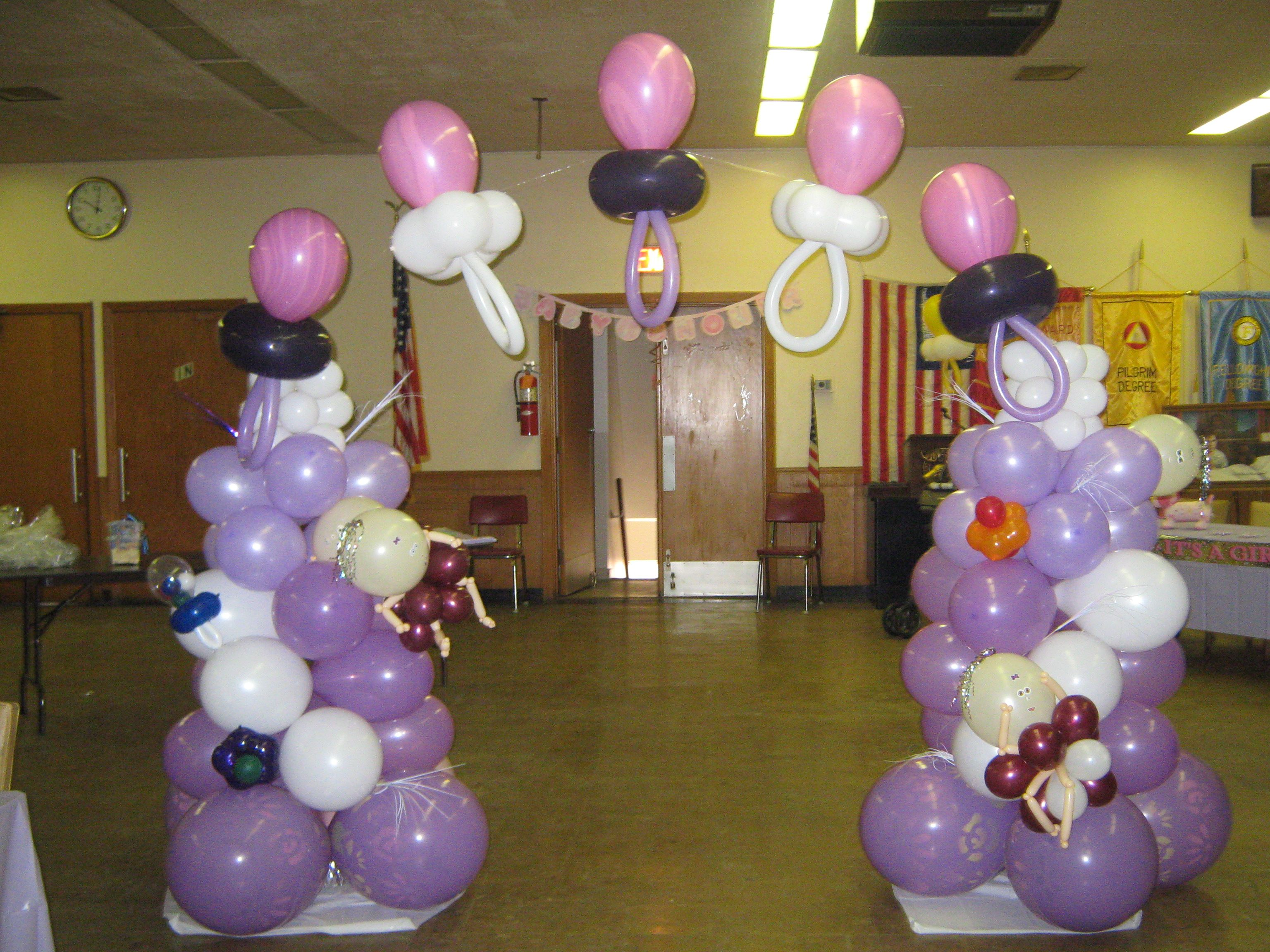 baby shower arch balloon decorating pinterest