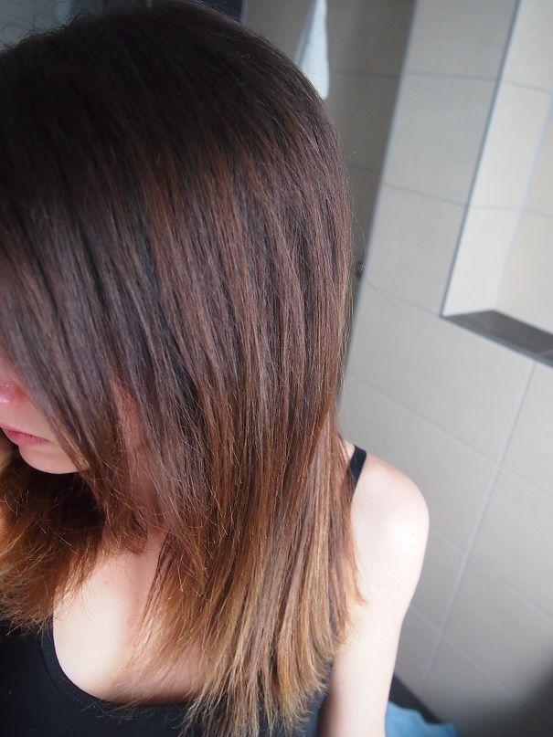 Rotstich Haaren entfernen