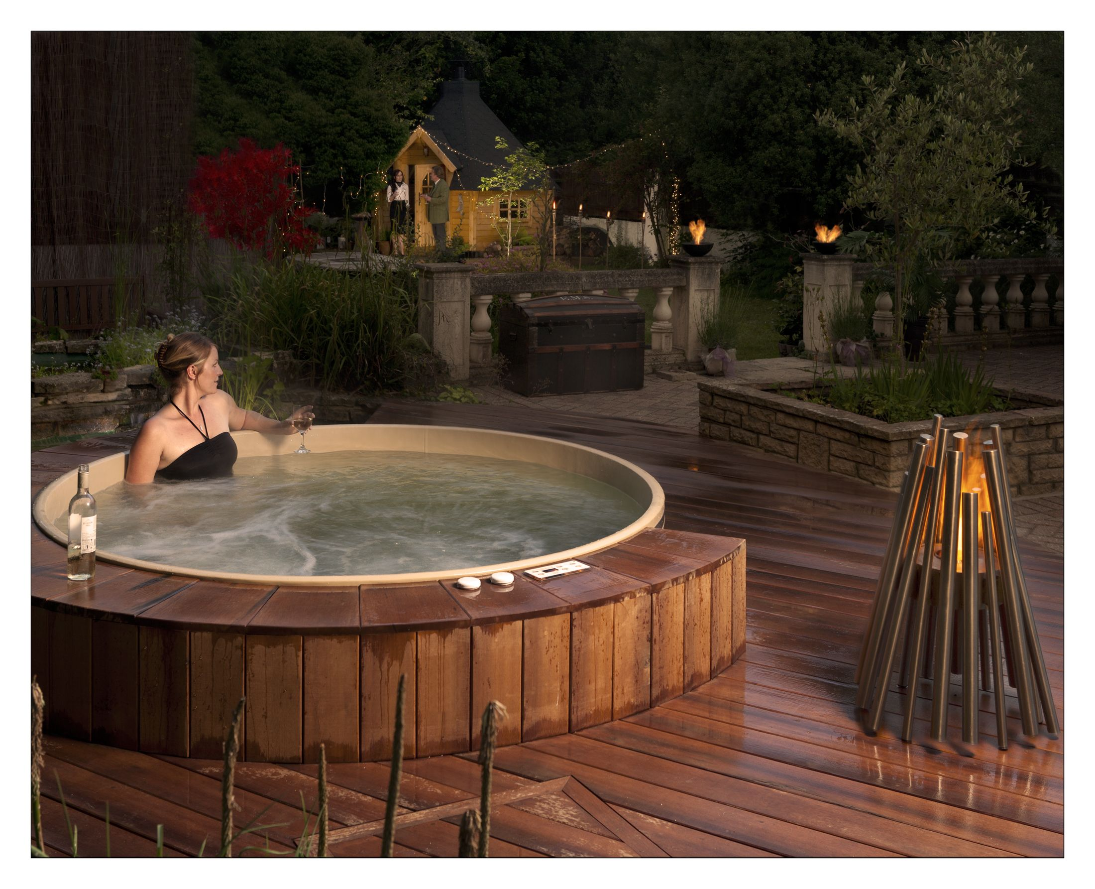 pin by canadian hot tubs inc cedar hot tubs on cedar hot. Black Bedroom Furniture Sets. Home Design Ideas