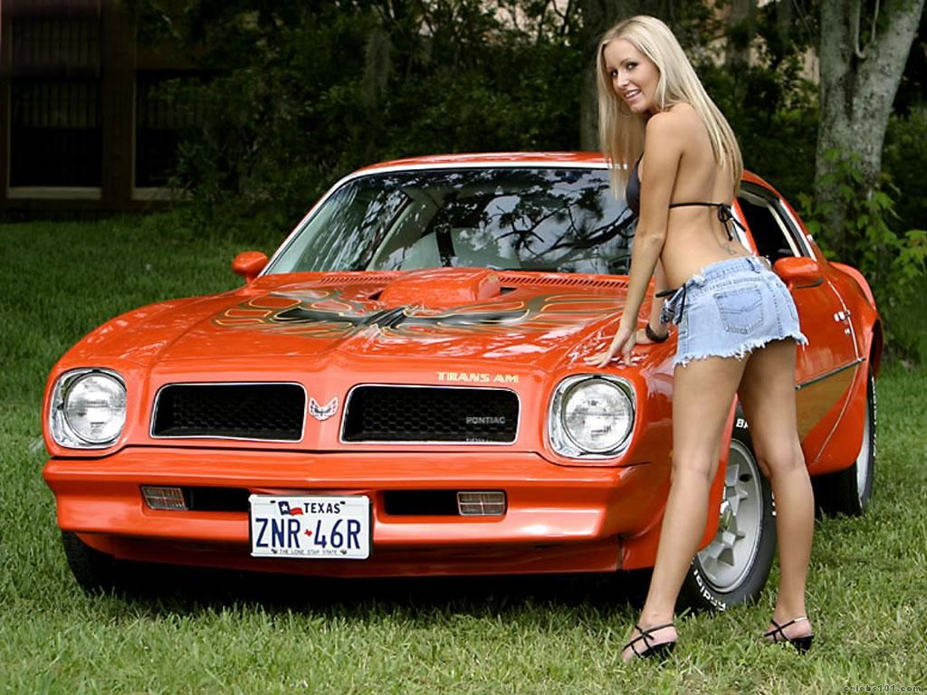 trans am and naked girls