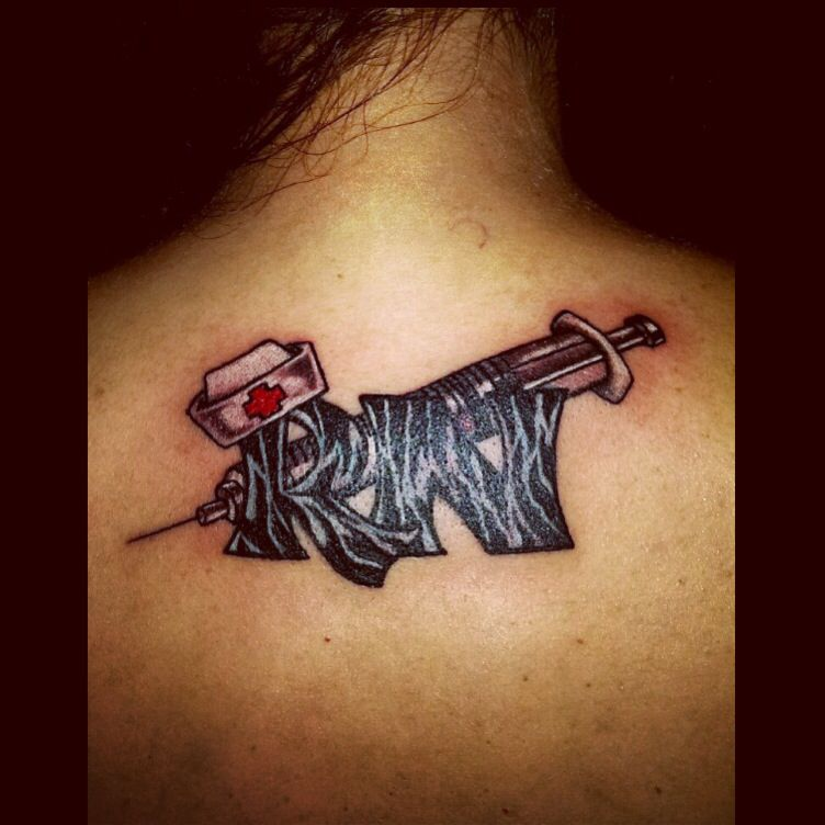 Tattoo Ideas Nurse: Nurse Tattoo By Audrey Mello