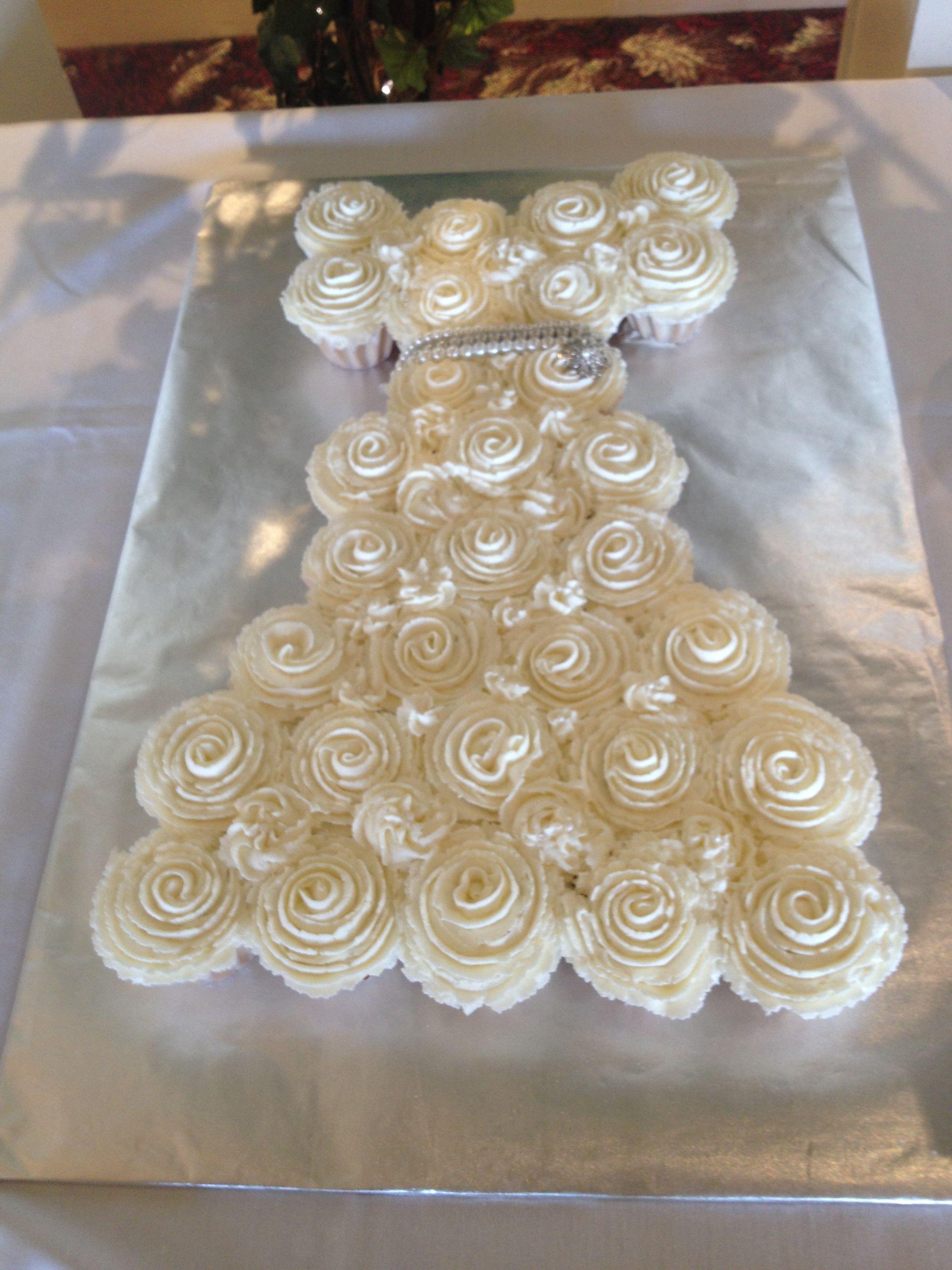 Cupcake wedding dress Ben & Rachel s Wedding