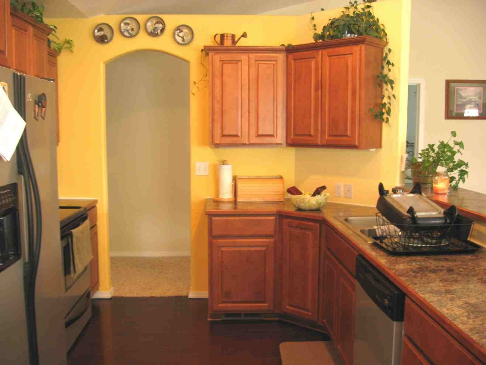 yellow kitchen kitchens pinterest