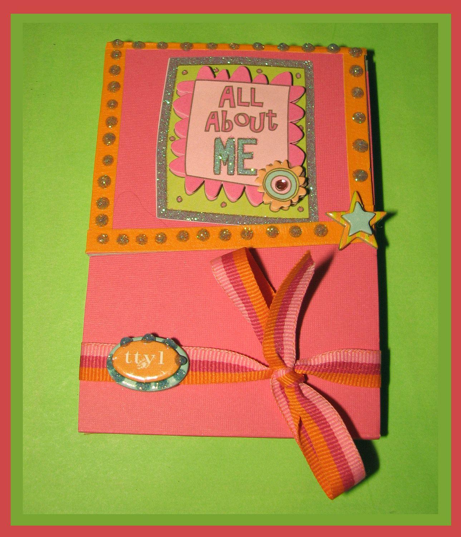 notebook2 | HomeMade Greeting Cards | Pinterest