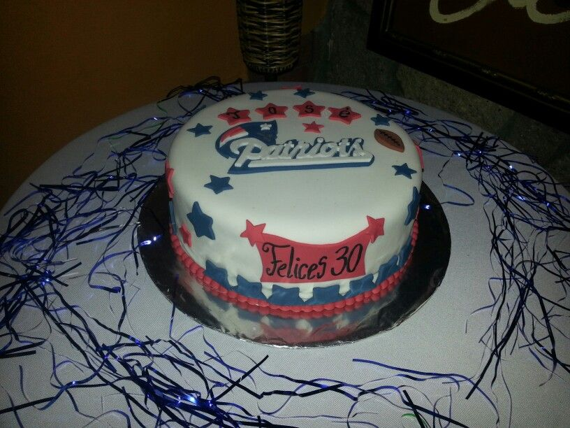 Cake Design England : New England Patriots Cake Ideas and Designs