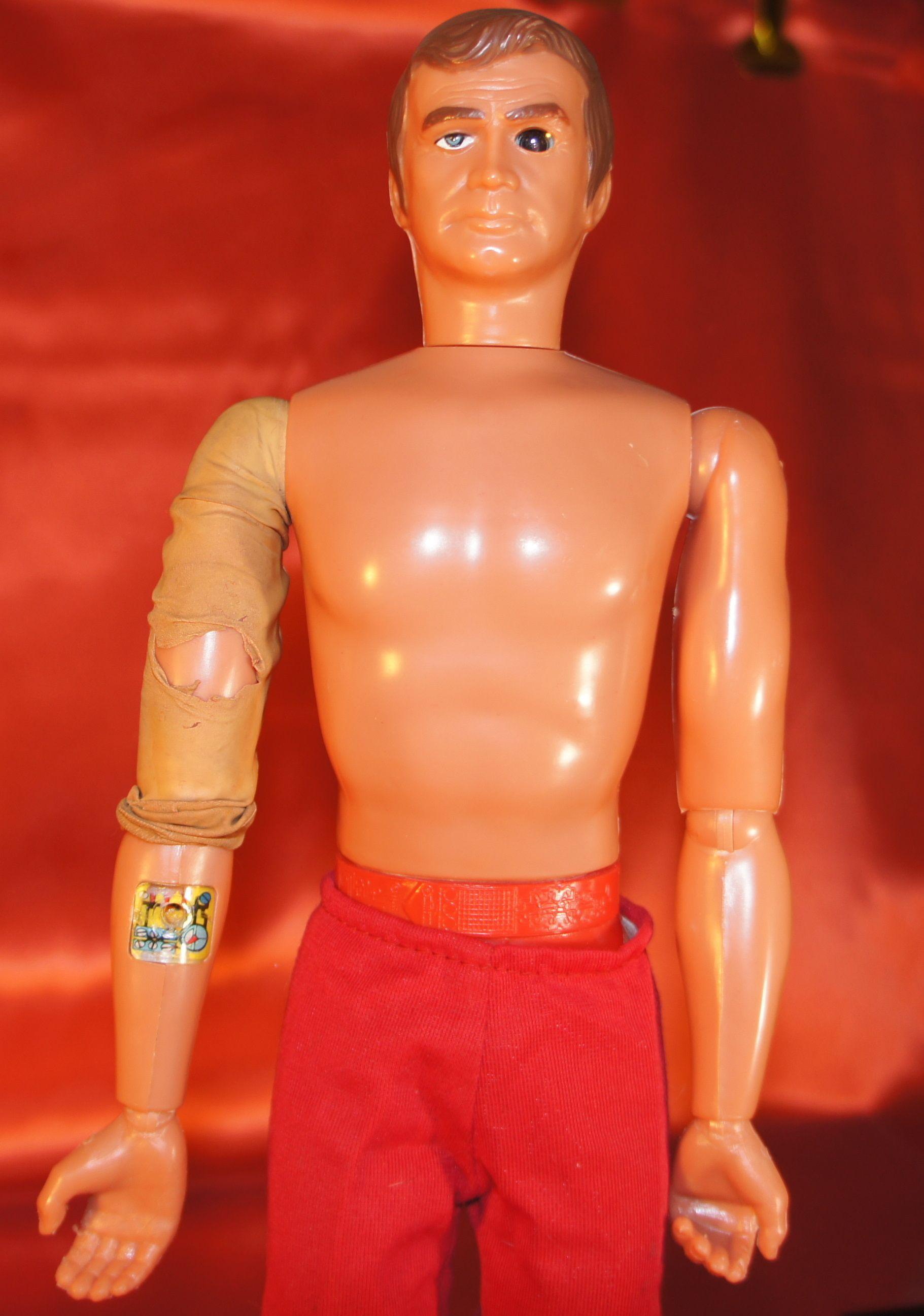 Keep Bionic man toys