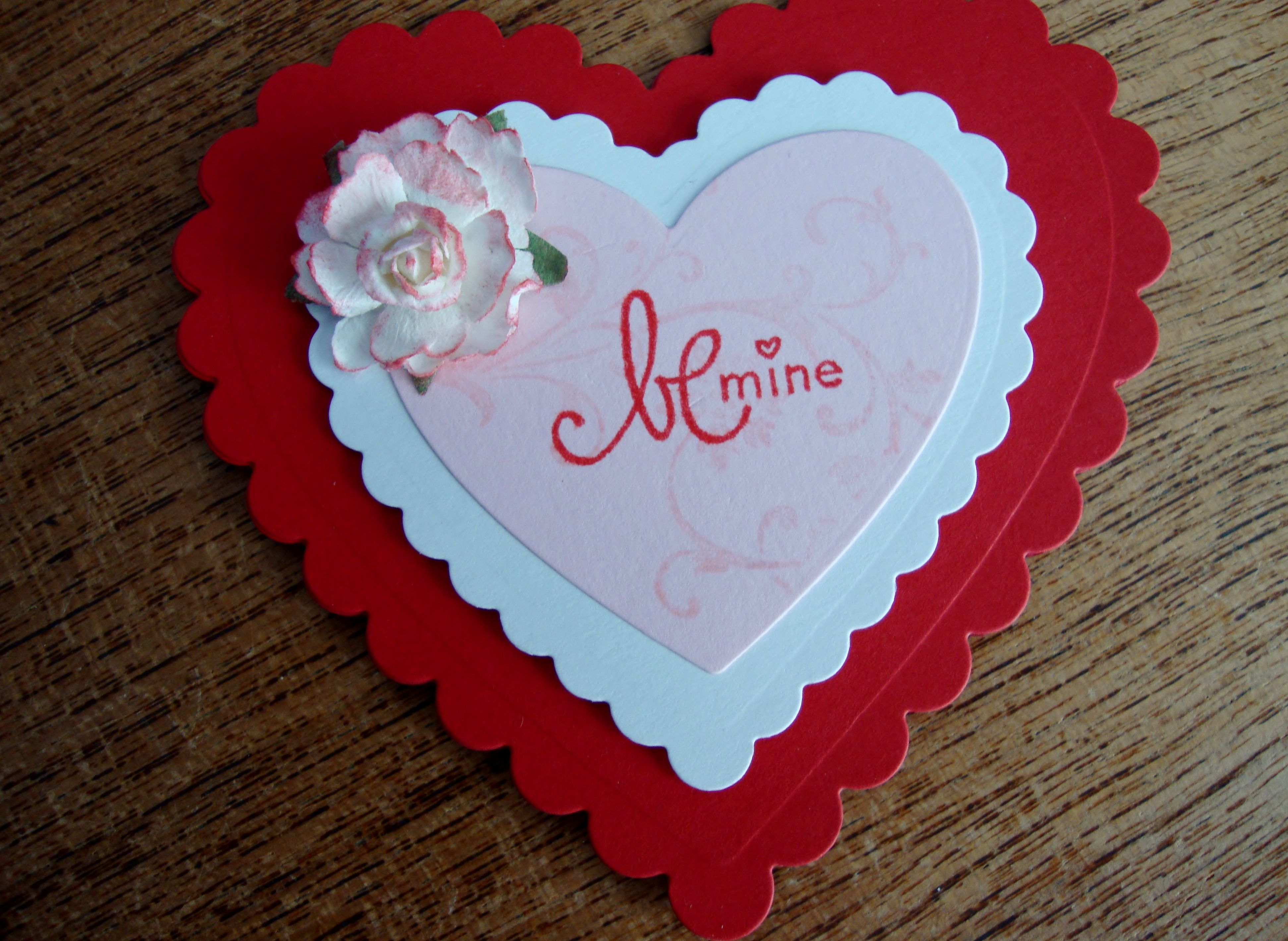 valentine handmade cards for him