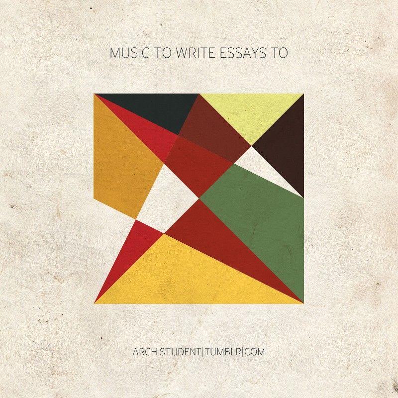 music to write essays to