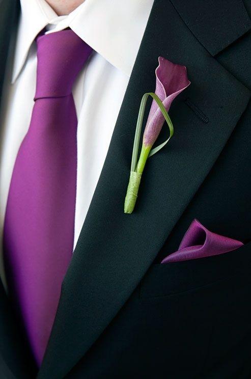 Similiar Black Suit Purple Tie Keywords