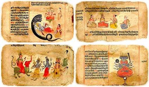 Los cuatro sáncritos Vedas