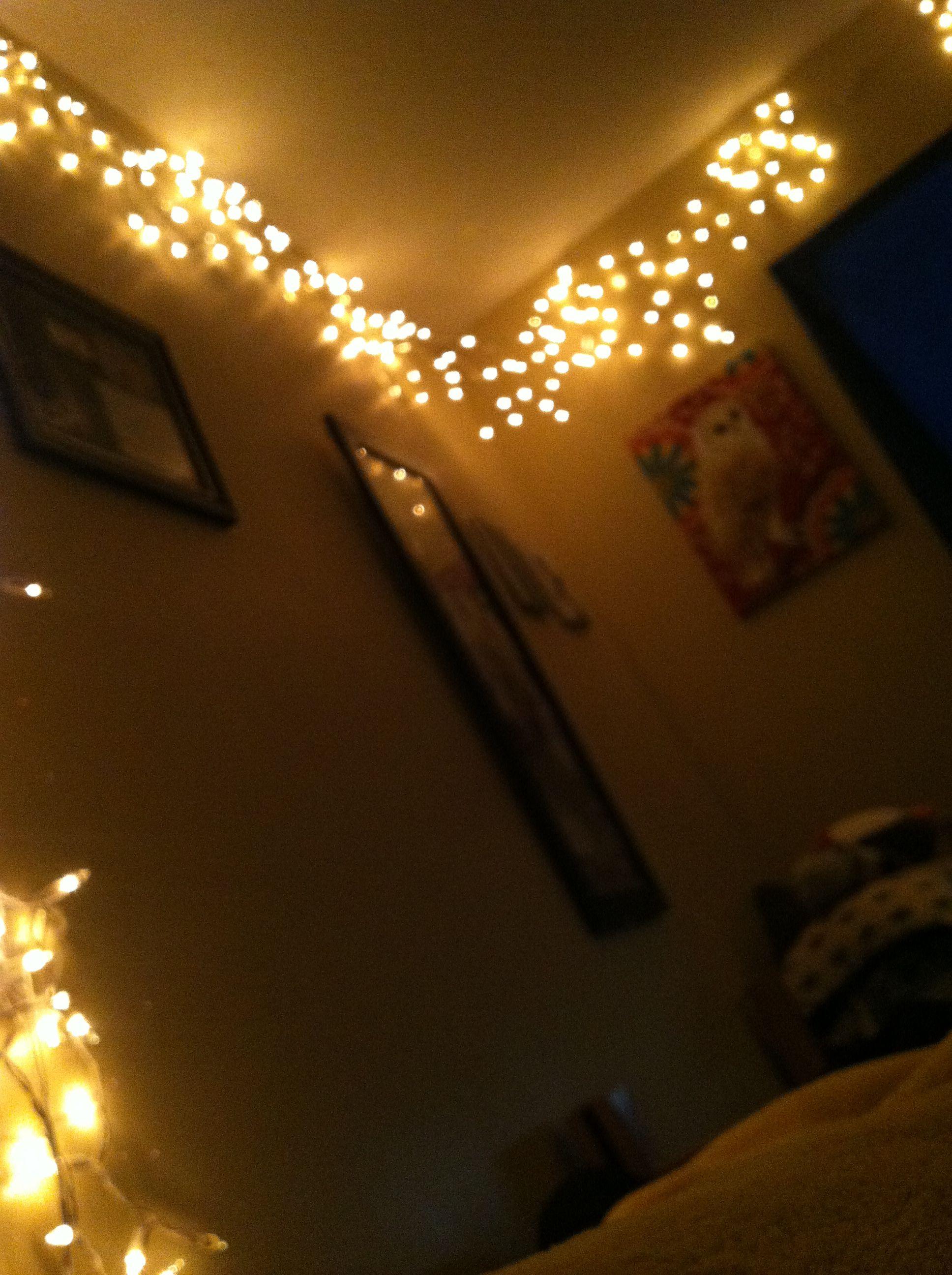 Our Dorm Room Lights College Pinterest