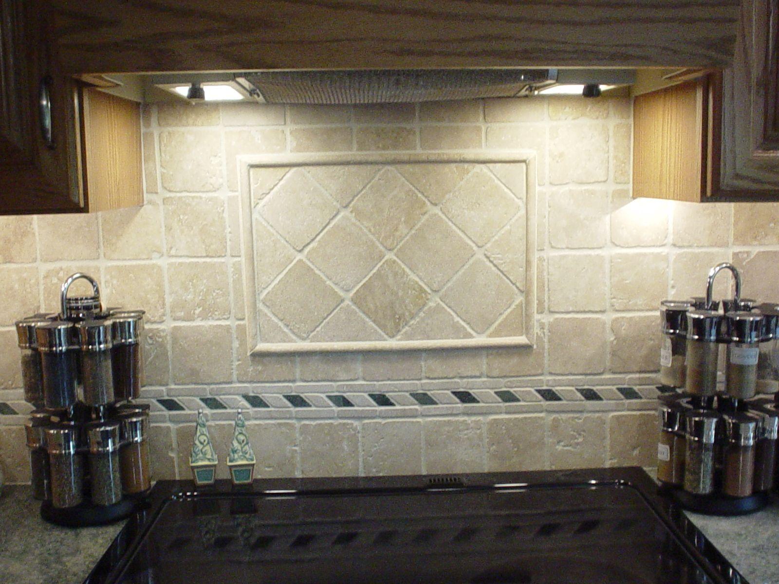 Marble Tile Kitchen Backsplash Tumbled Backsplash Limestone Noce Travertine Kitchen And Bathroom