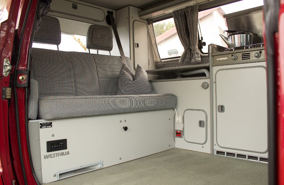 Interior westfalia vw interiors pinterest for Interior westfalia