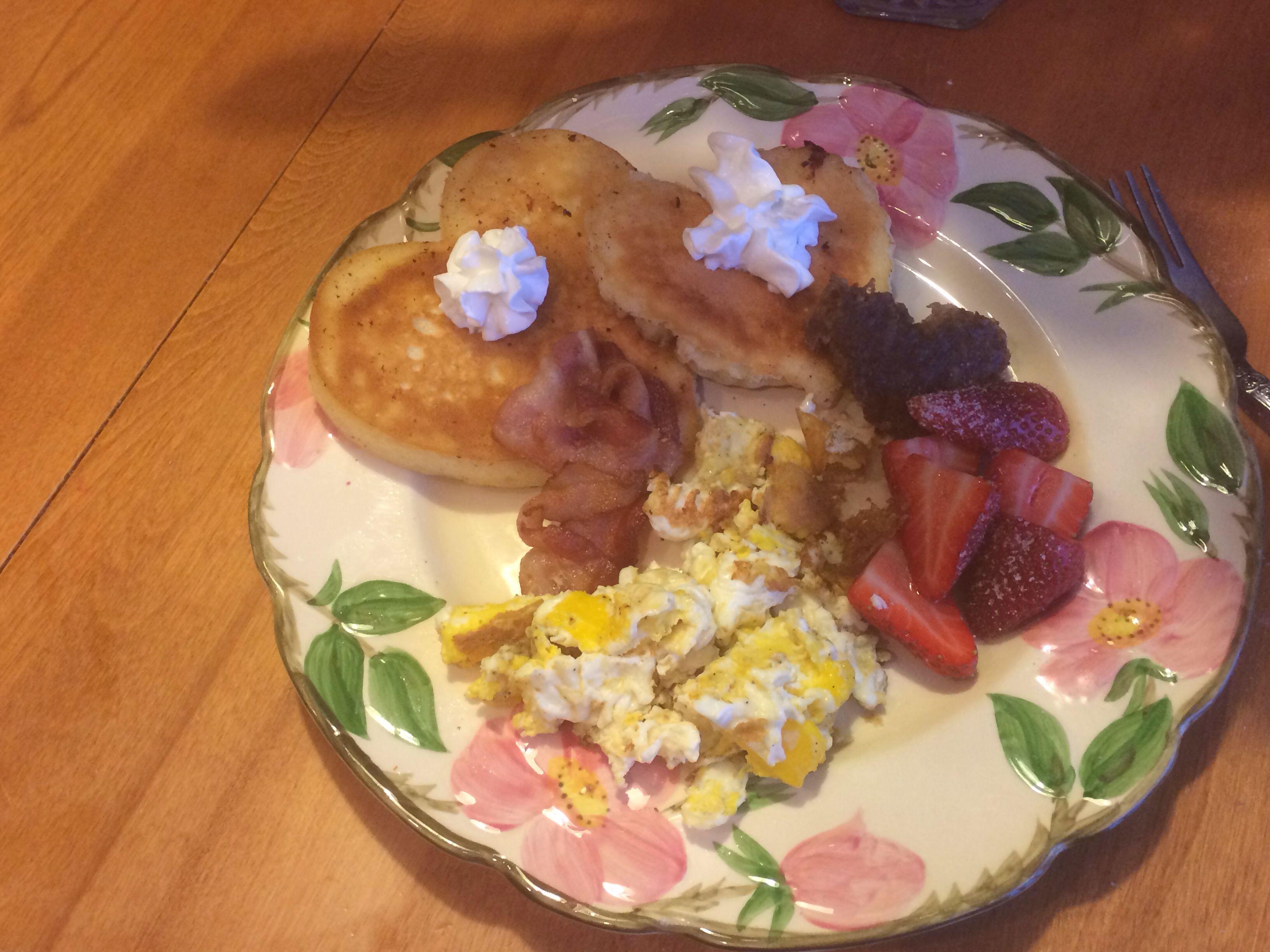 breakfast valentines day ideas