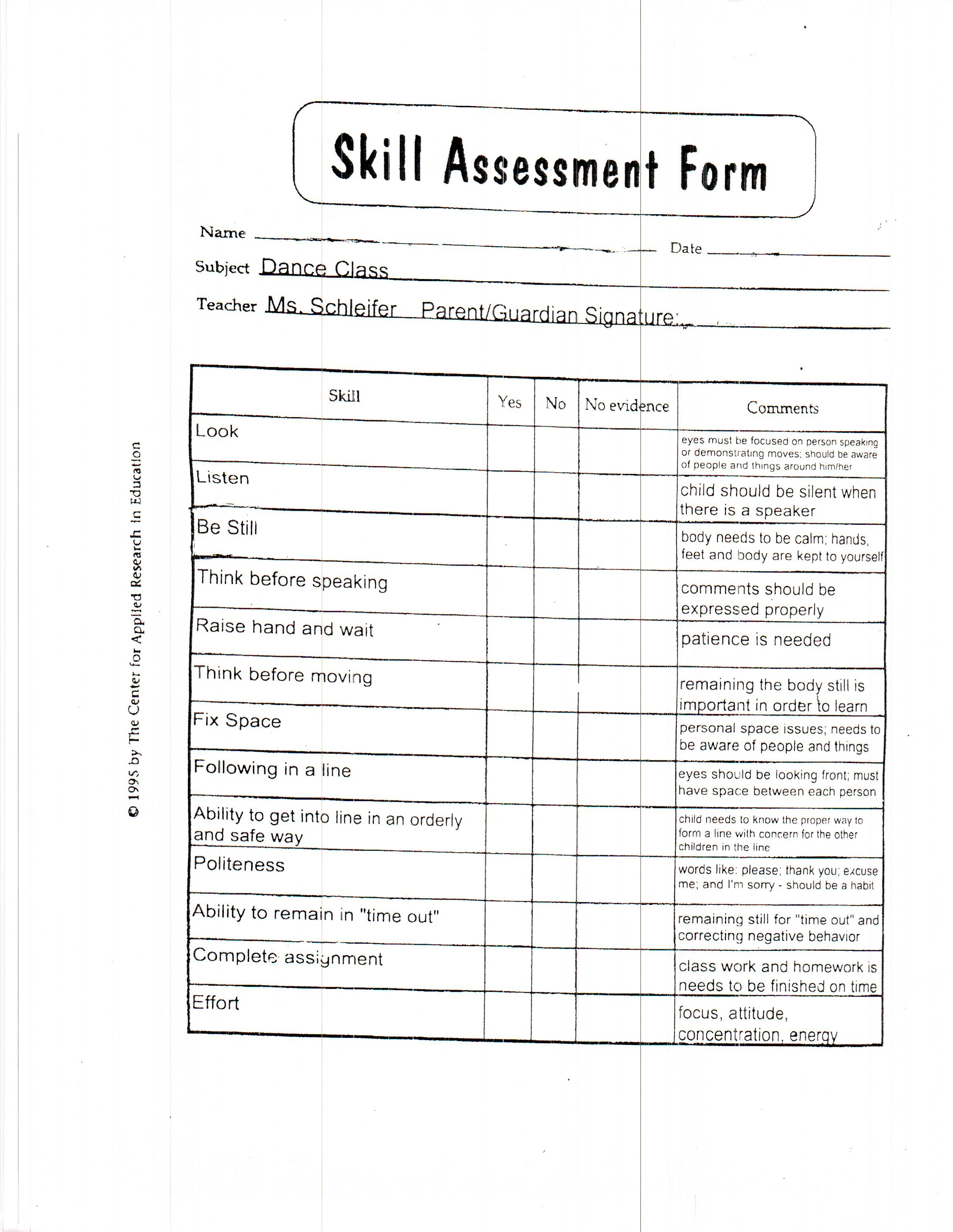 Activity Evaluation Form Templatepdf Alberto Vzquez Figueroa Yiza