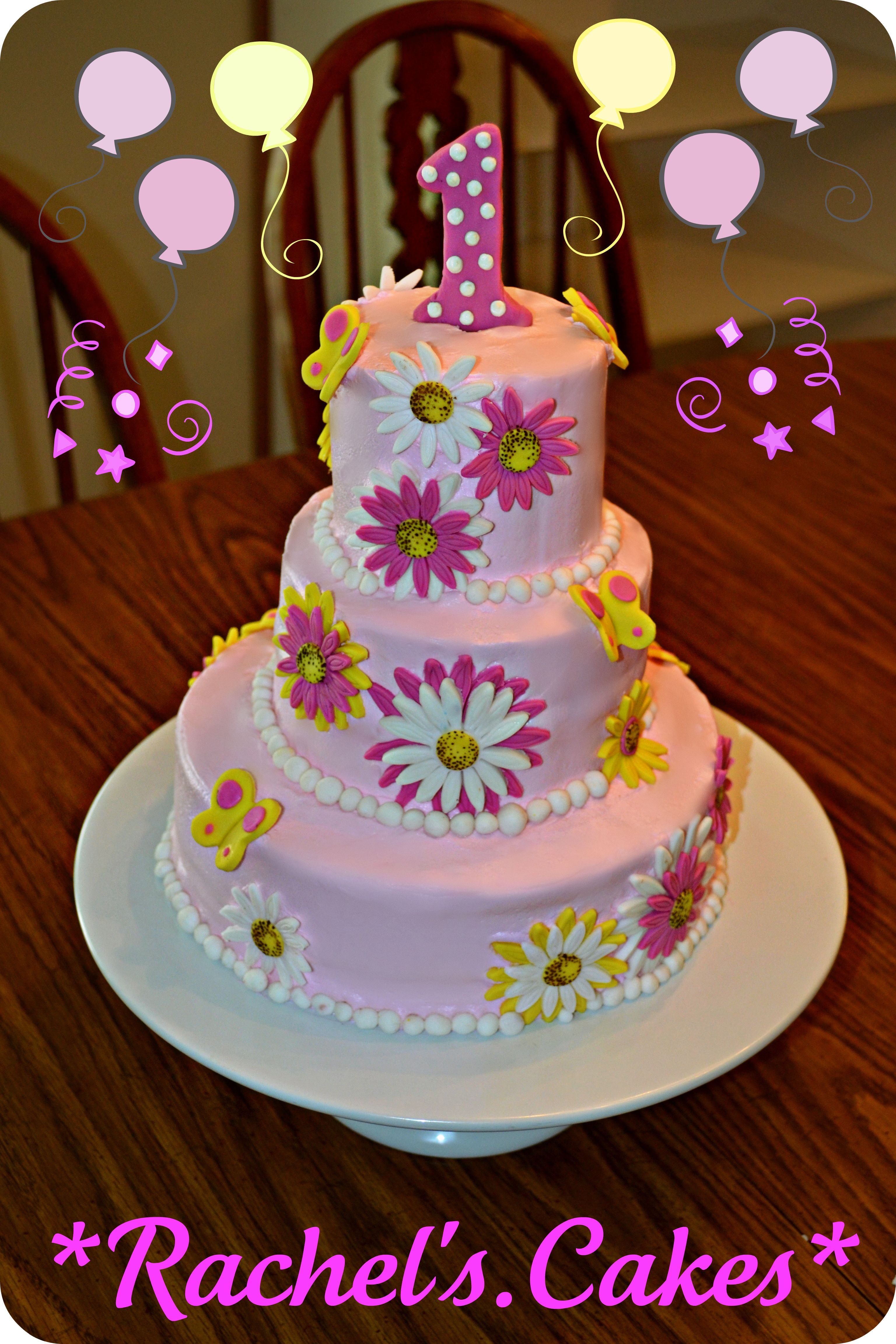 Flower Cakes for Girls submited images