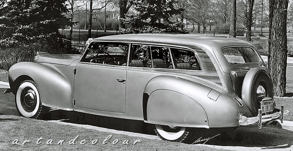 1941 lincoln continental woody station wagons pinterest. Black Bedroom Furniture Sets. Home Design Ideas