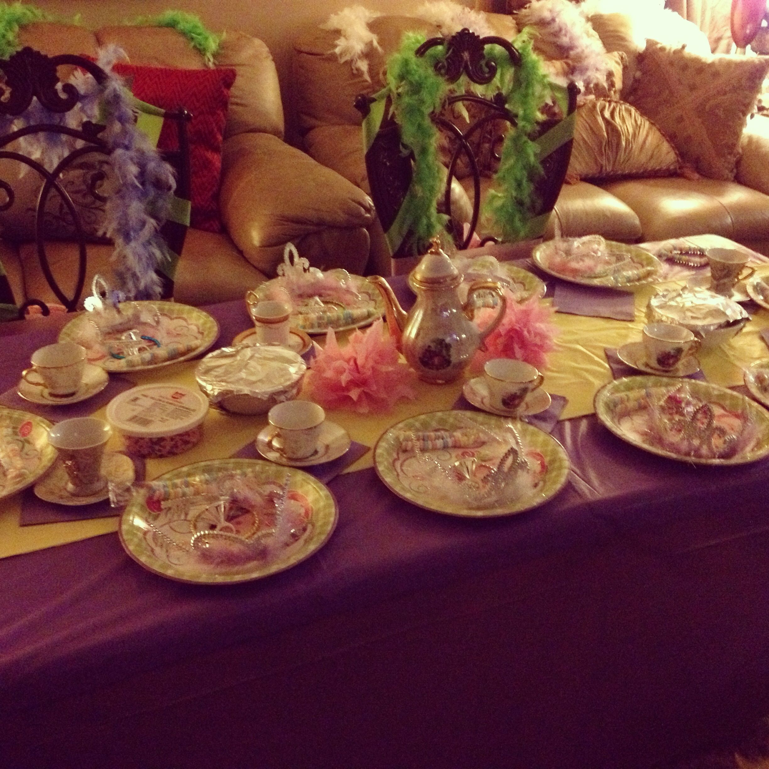 Tea party table set up tables pinterest for Party table setting
