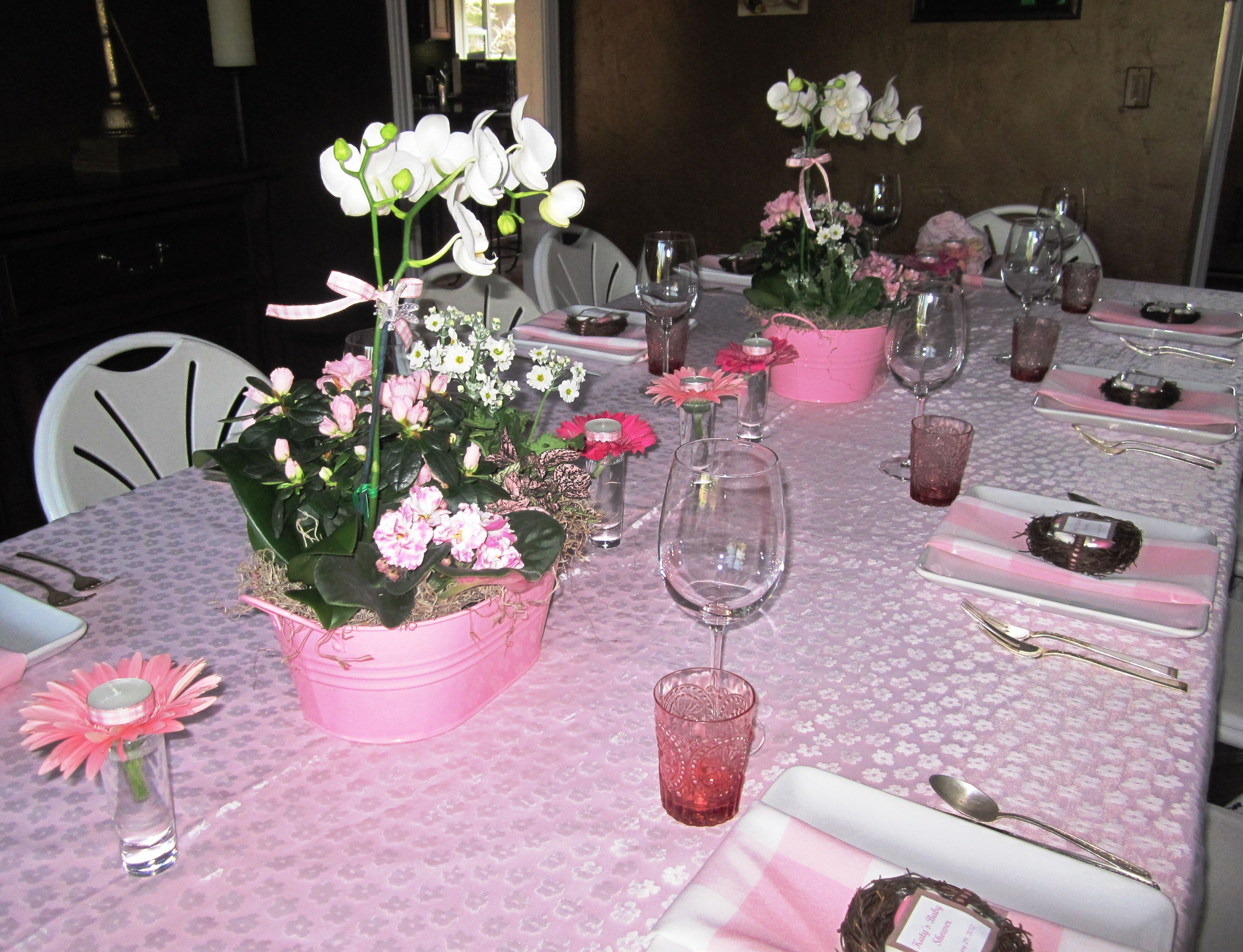 Baby Shower Tablescapes Pinterest