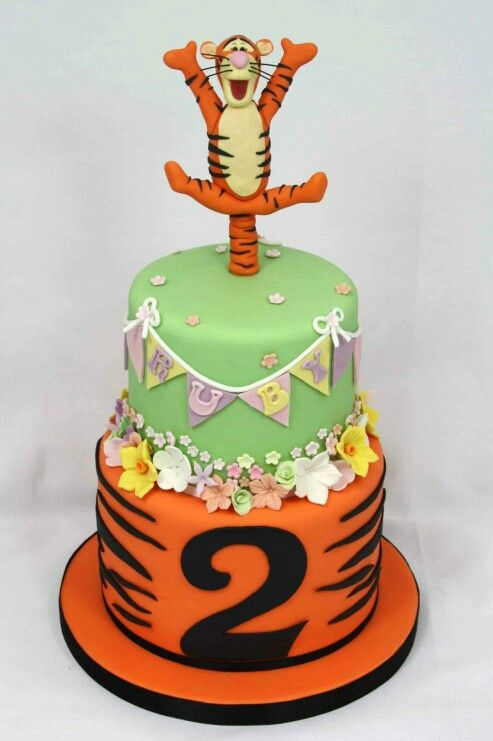 Cake Designs Tiger : Tigger cake Cakes Couture Pinterest