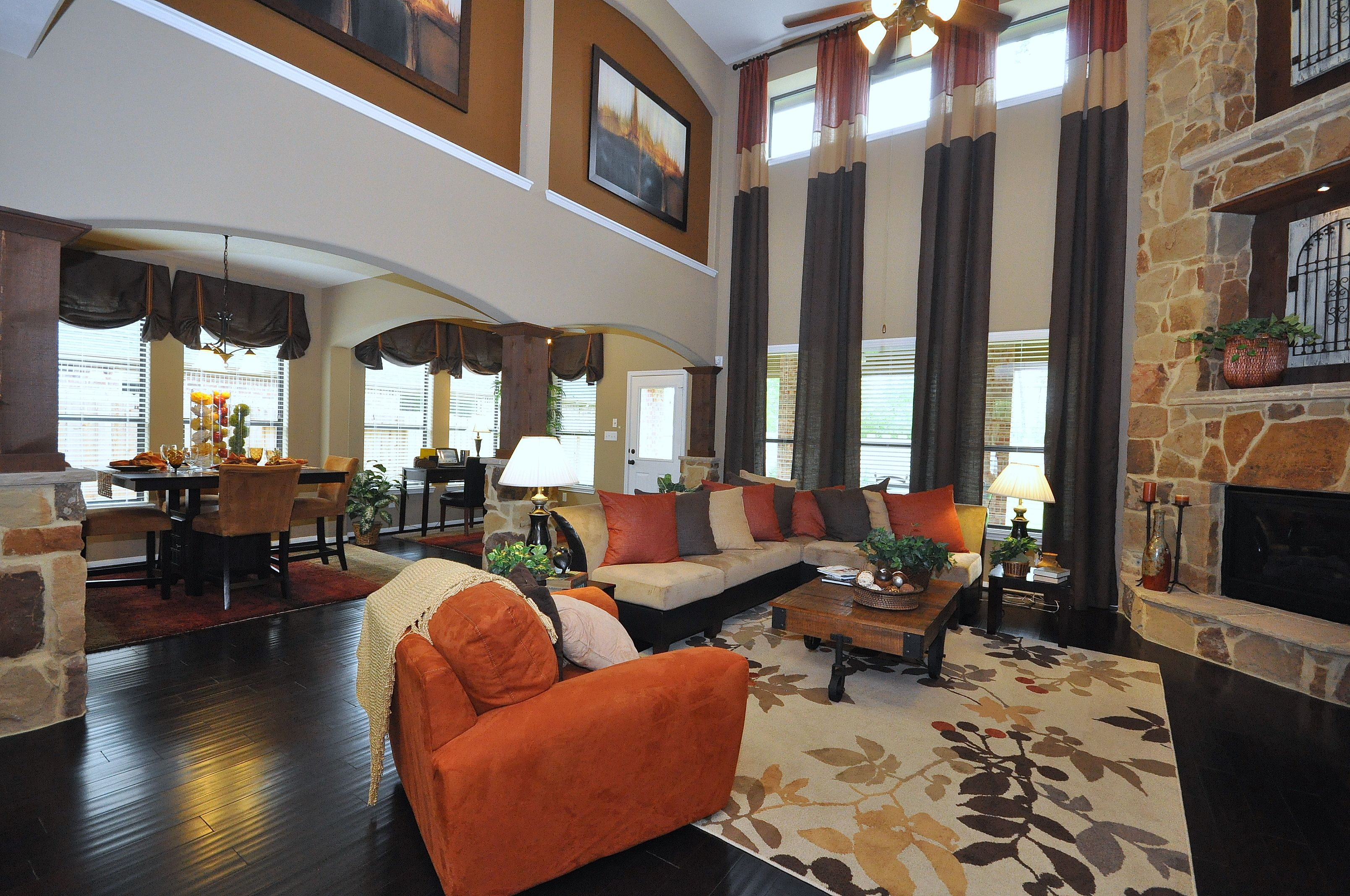 Love the warm rich colors livingdining room combo pinterest