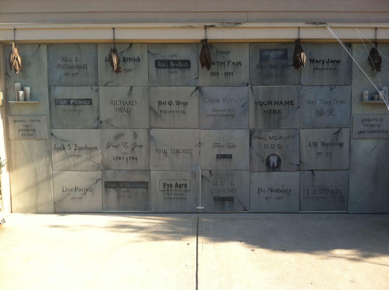 Decorating Ideas > My Garage Mausoleum For 2012! )  Halloween  Pinterest ~ 015650_Halloween Door Magnets