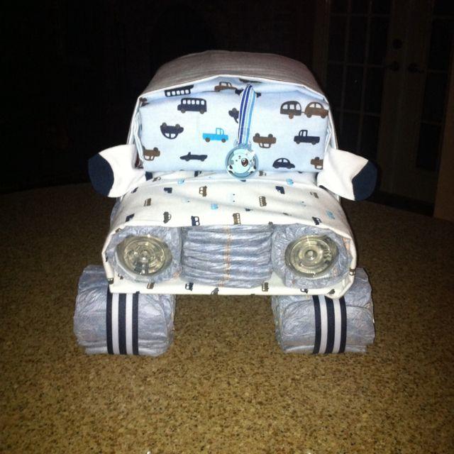 Car Diaper Cakes Pictures