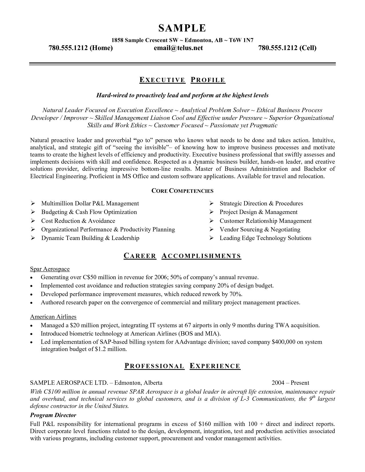 resume header in microsoft word