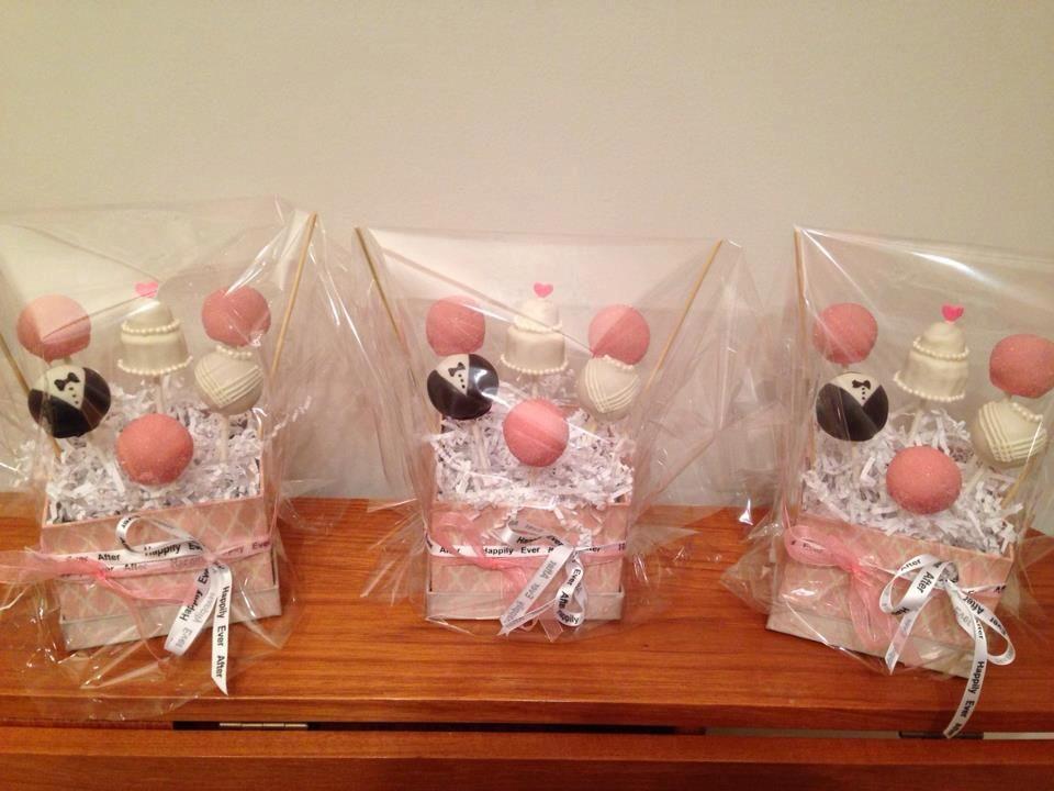 Bridal Shower Cake Pop Prizes