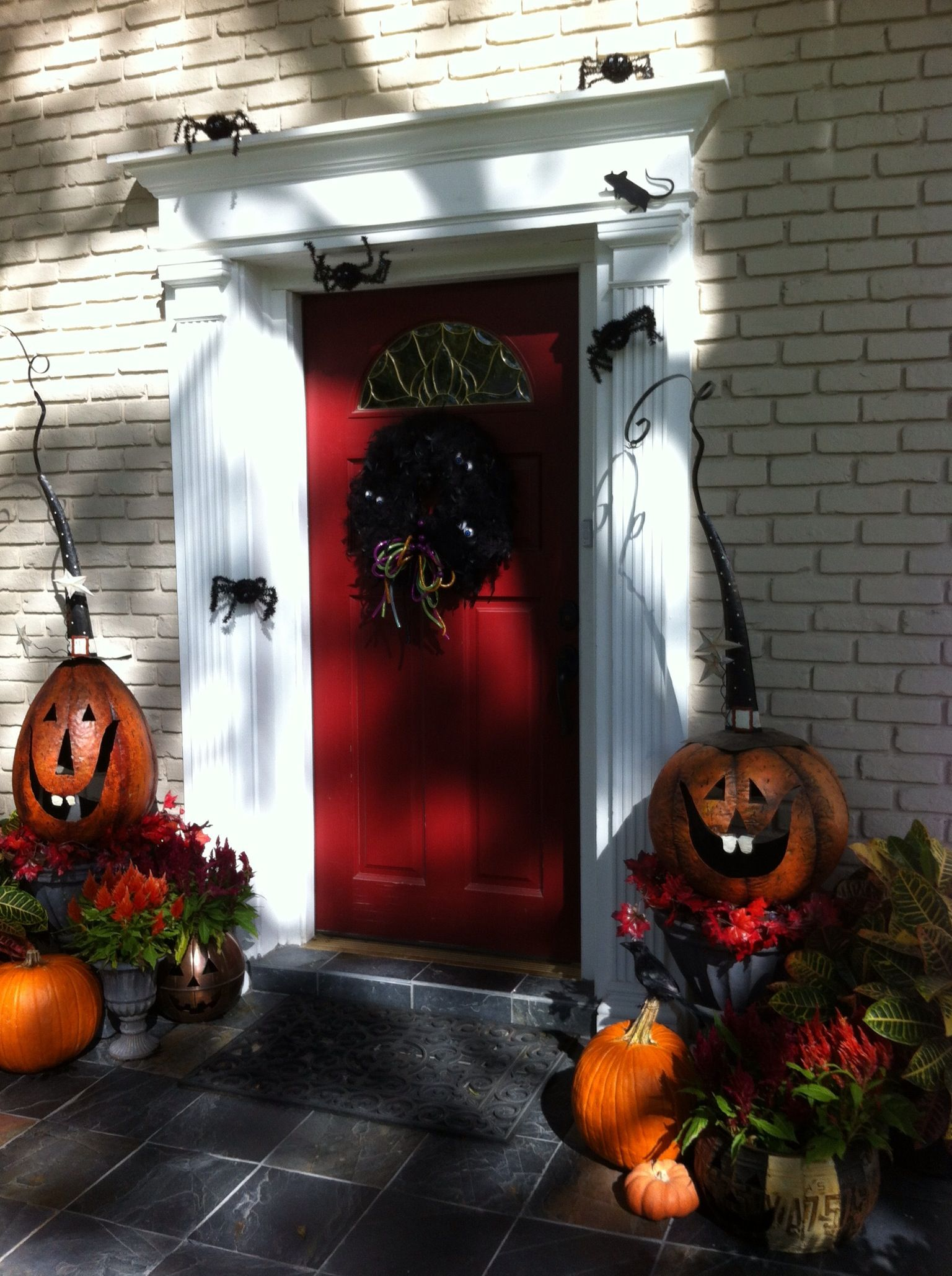 Halloween door decorations  Halloween  Pinterest ~ 082904_Halloween Door Decorations