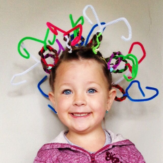 Crazy Hair Day! The pipe cleaners were a huge hit I LOVE IT ...