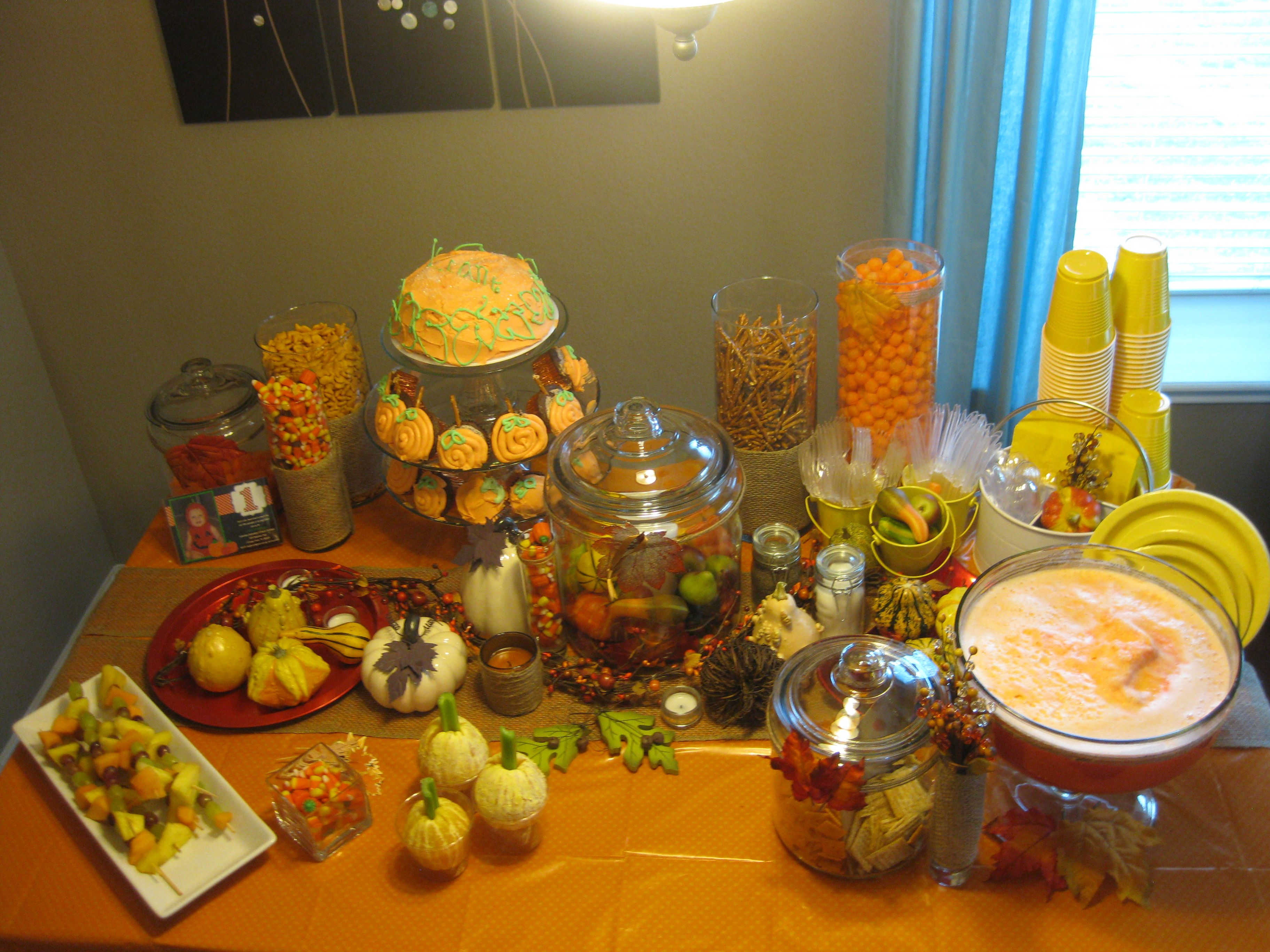 fall party decor baby shower ideas pinterest