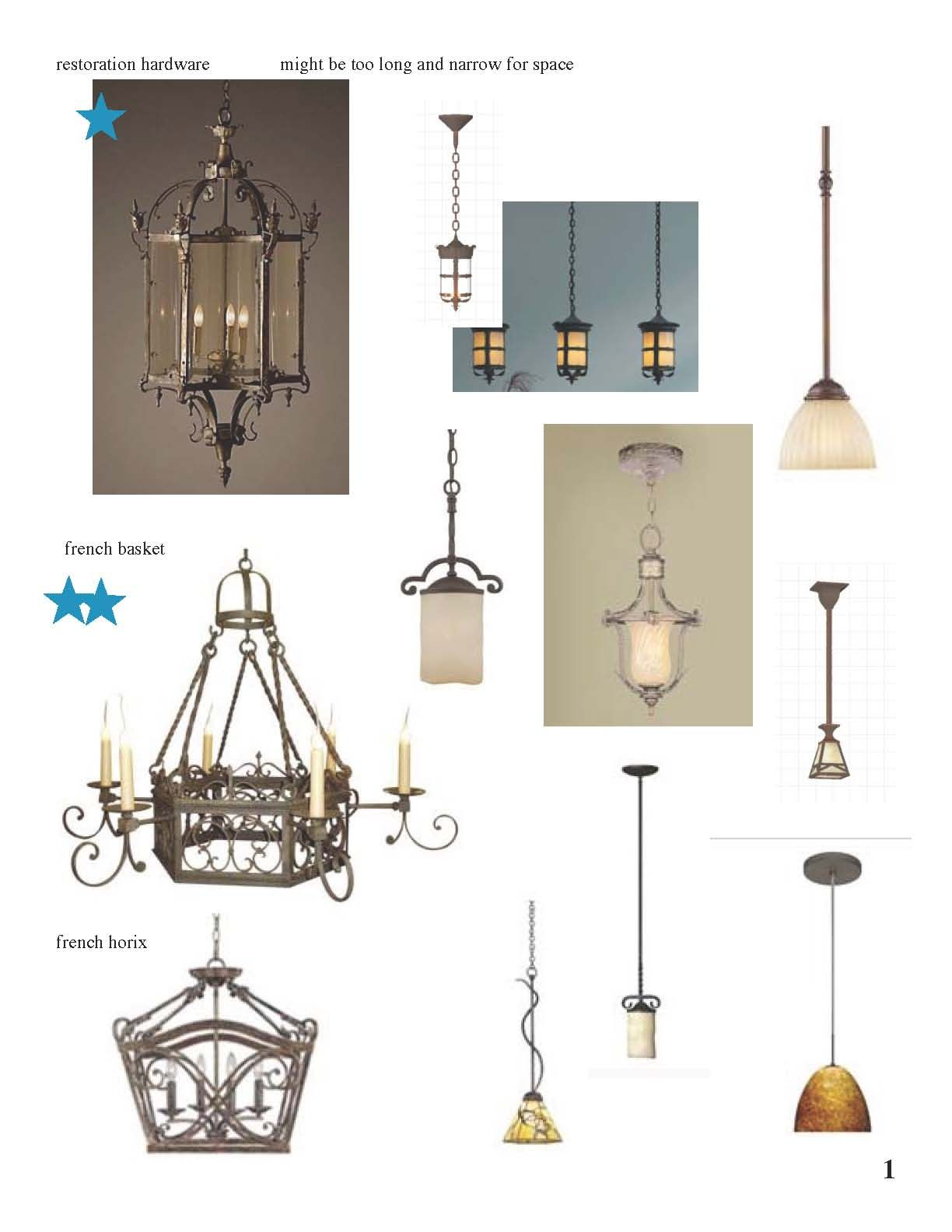 French Country Lighting Selects 1 French Country Kitchen Remodel
