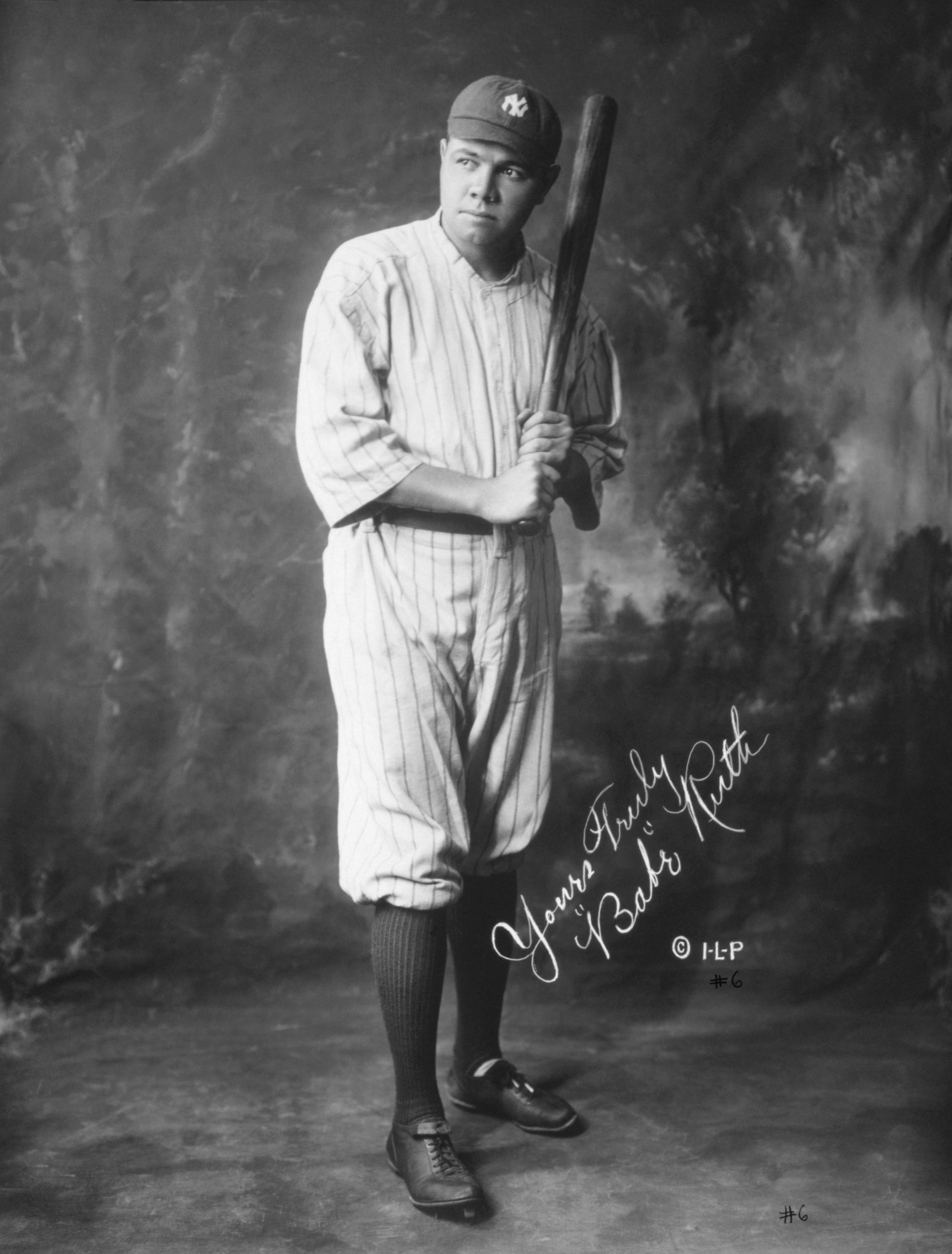 """Yours Truly """"Babe"""" Ruth   Yankees....   Pinterest Babe Ruth Yankees"""