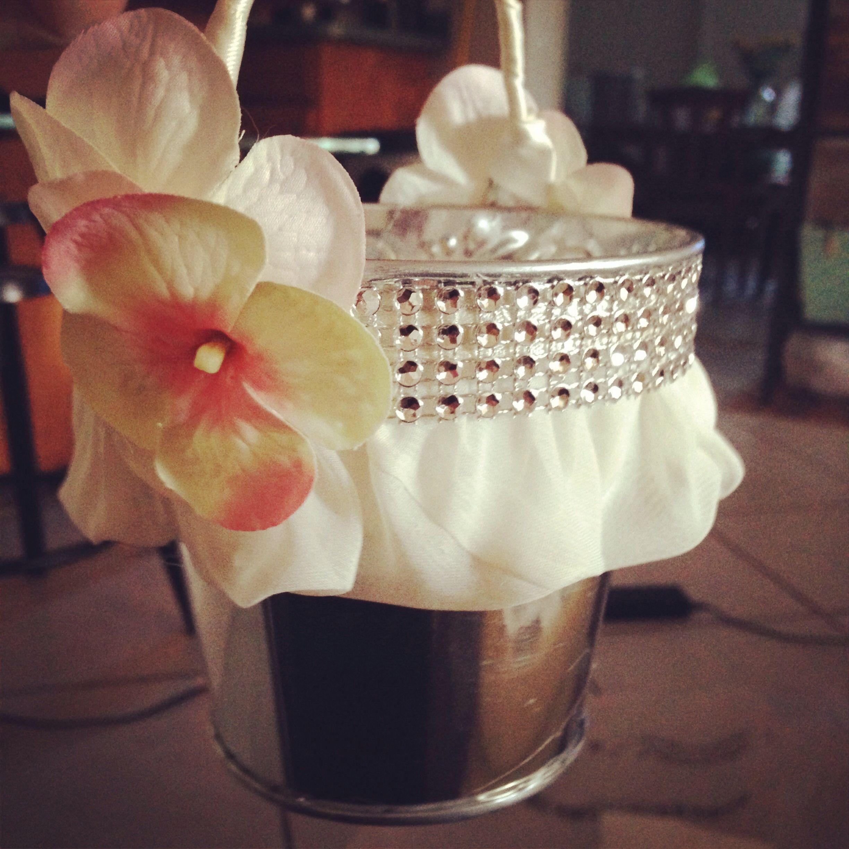 Flower Girl Baskets Diy : Diy flower girl baskets future wedding