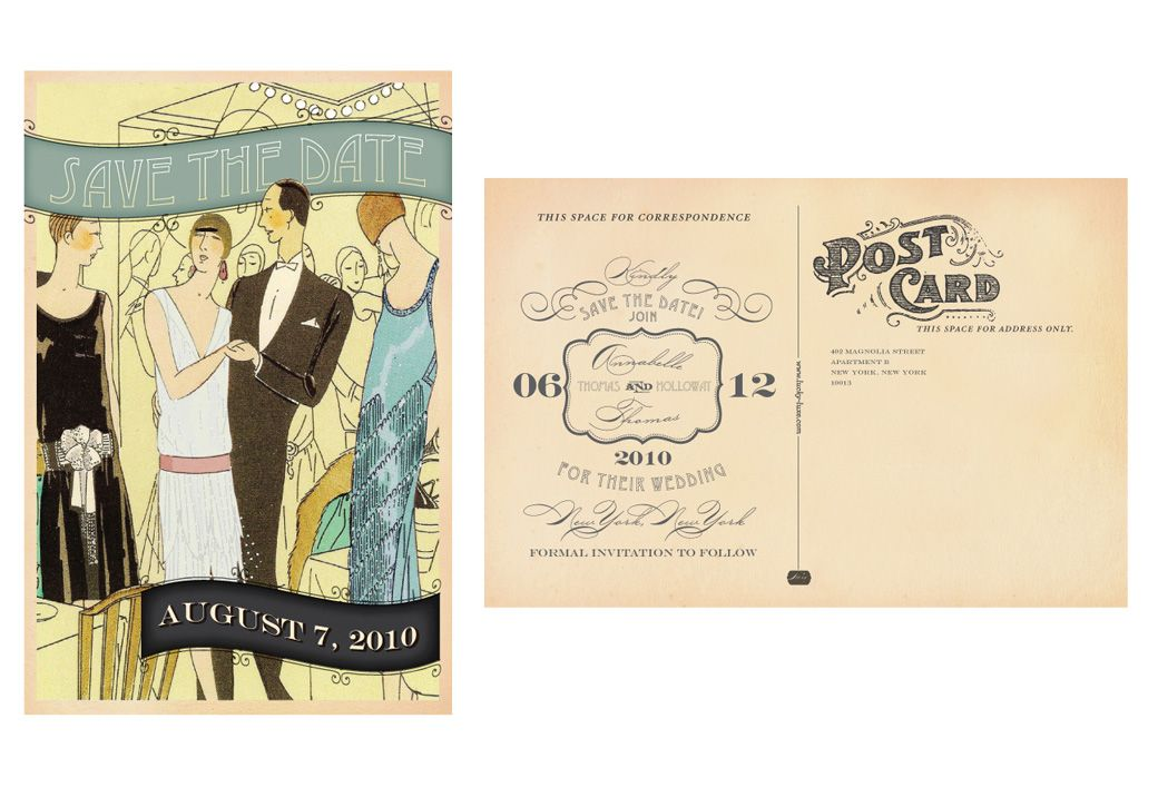 Prohibition party, Boardwalk empire and Save the date on Pinterest